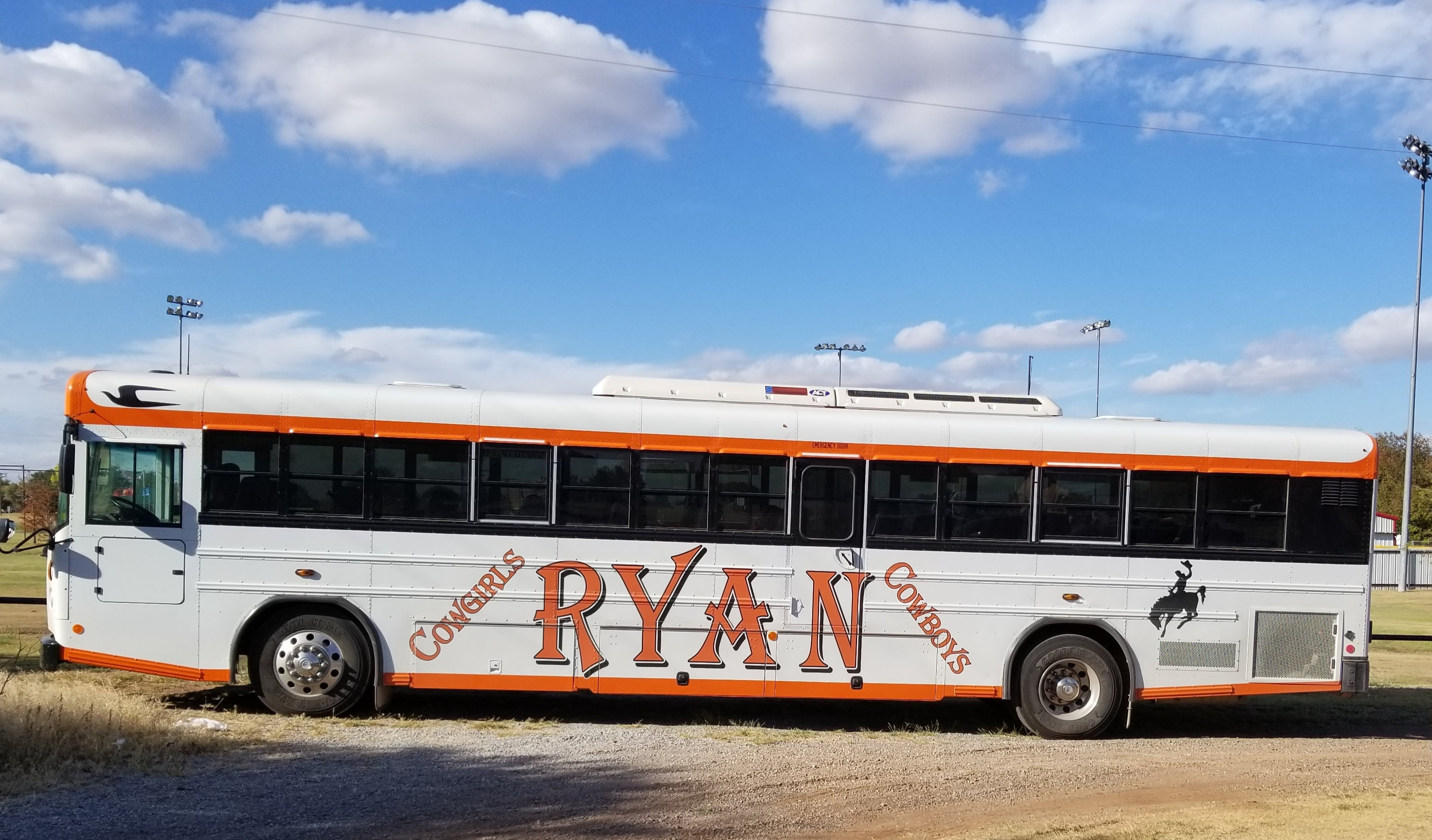 Ryan Cowboys & Cowgirls Bus